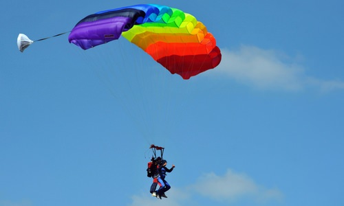 The Best Weather for Skydiving