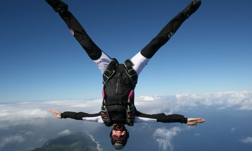 What Does a Professional Skydiver Do?
