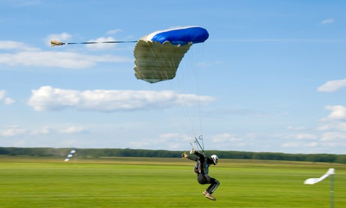 What is a Parachute Landing Fall (PLF)?