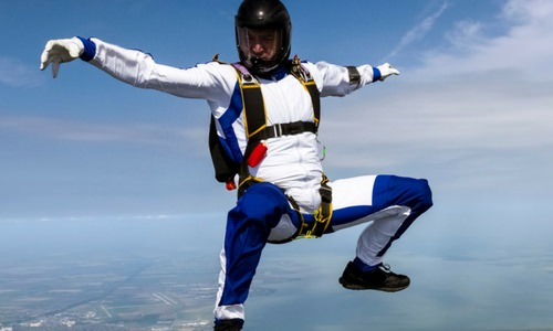 How to Sit Fly Skydiving