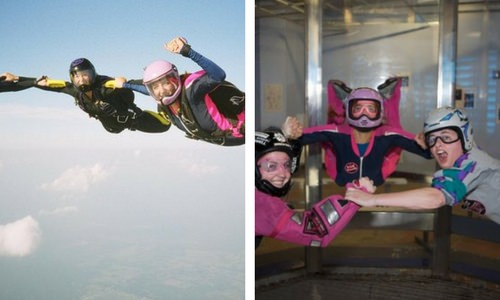 Skydiving Vs. Indoor Skydiving