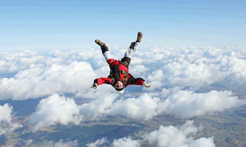 Terminal Velocity of a Skydiver